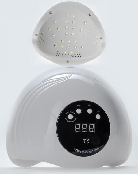 Хибридна УВ/ЛЕД Лампа Т5 за 2 ръце модел 2021 година свелина в диапазона УВ/ЛЕД мощна 72 вата